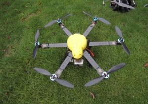 マルチコプター小型機