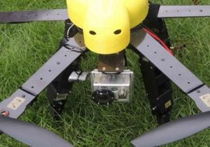 マルチコプター小型機カメラ