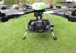 マルチコプター中型機カメラ