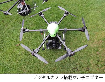 デジタルカメラ搭載マルチコプター